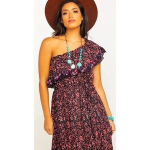 Free People What About Love Medium Maxi Dress NWT